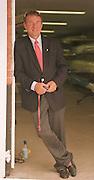 Henley, GREAT BRITAIN, Jürgen Gröbler Jurgen GROBLER,, 04.07.2001 Rowing Courses, Henley Reach, Henley, ENGLAND [Mandatory Credit, Peter Spurrier/Intersport-images, 04.07.2001 Rowing Courses, 20010604 Henley Royal Regatta, Henley, Great Britain.
