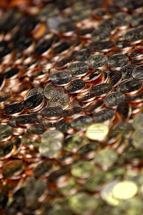 "PMM290109#Portuguese Mint ""Casa da Moeda Lisbon"" - coin afterwards all the minting process."