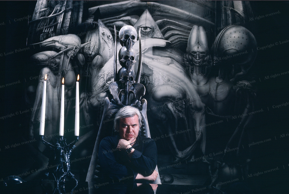 H.R. Giger is a Swiss surrealist, artist, sculptor, architect and designer and is the creator of the alien lifeforms as seen in the movies.