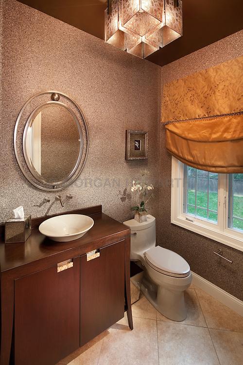 Bathroom designed by Syntha Harris 9921 silverbrook lane rockville MD Master Bathroom