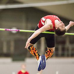 Bowdoin Indoor 4-way track meet: mens high jump
