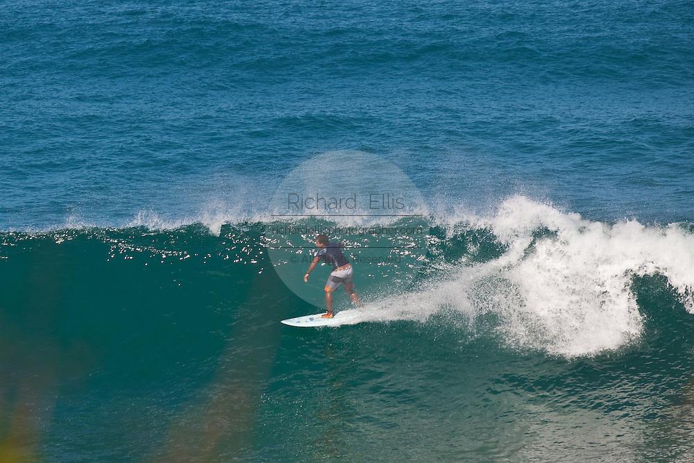 Surfers at Indicators beach in Rincon Puerto Rico