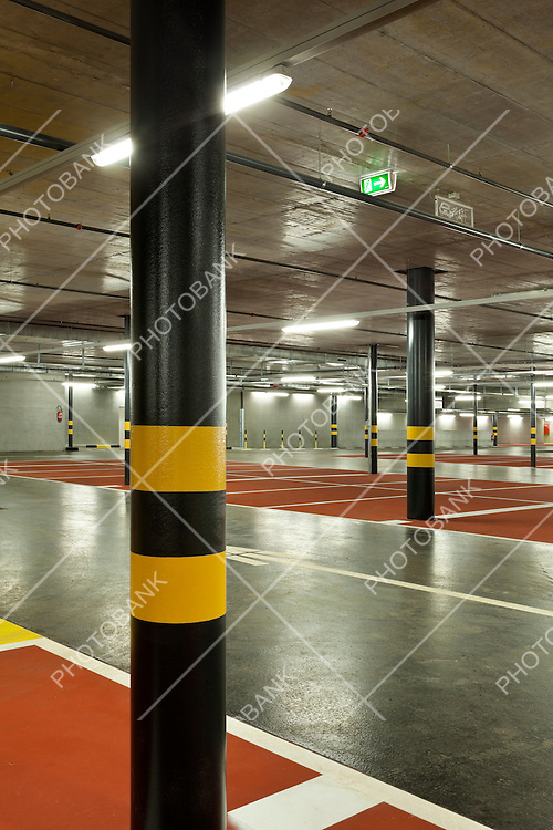 new underground parking