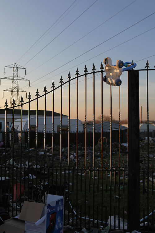 The largest Traveller community in the UK, Dale Farm was under threat of bulldozing. Ninety families were facing the largest eviction of its kind in recent memory, a nightmare which forced its residents to camp again on roadsides and car-parks as the site was finally and violently evicted in October 2011.