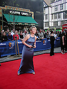 Kirsty Young, TV Bafta Awards, London Palladium. 13 April 2003. © Copyright Photograph by Dafydd Jones 66 Stockwell Park Rd. London SW9 0DA Tel 020 7733 0108 www.dafjones.com
