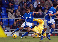 Photo: Ashley Pickering.<br />Ipswich Town v Sheffield Wednesday. Coca Cola Championship. 11/11/2006.<br />Ipswich's Danny Haynes on the ball