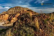 Badlands formations in Theodore Roosevelt National Park, North Dakota, USA