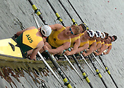 Poznan, POLAND.  2006, FISA, Rowing, World Cup, AUS M8+ bow,  Dave  McGOWEN, James MARBURG, Matthew RYAN,  Sam  CONRAD,  Tom LAURICH,  Karsten FORSTERLING,  Cameron  McKENZIE McHARG,  Jeremy STEVENSON, cox Marty RABJOHNs, move  away from  the  start, on the Malta  Lake. Regatta Course, Poznan, Thurs. 15.05.2006. © Peter Spurrier   ...[Mandatory Credit Peter Spurrier/ Intersport Images] Rowing Course:Malta Rowing Course, Poznan, POLAND