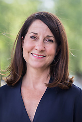 © Licensed to London News Pictures. 02/09/2015. London, UK. Labour leadership contender Liz Kendall MP posing for a portrait after campaigning in Wood Green. Photo credit : James Gourley/LNP