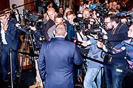 Tirsdag d. 7. maj 2019 udskrev statsminister Lars Løkke Rasmussen folketingsvalg til afholdelse d. 5. juni 2019. Her taler statsministeren med pressen efter udskrivelsen.