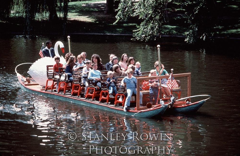 Duck Boats, Boston Public Garden