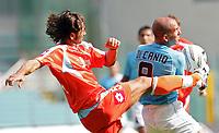 Fotball<br /> Serie A Italia<br /> Foto: Graffiti/Digitalsport<br /> NORWAY ONLY<br /> <br /> Roma 18/9/2005 Campionato Italiano Serie A<br /> Lazio Treviso 3-1 <br /> Paolo Di Canio Lazio William Viali Lazio