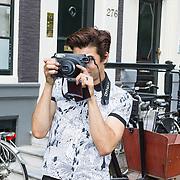 NLD/Amsterdam/20130906 - Perspresentatie cast Hartenstraat, Noah Valentyn