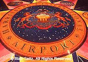 Harrisburg International Airport, Terminal Logo, Middletown, PA, Dauphin Co.