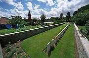 Sequehart No 1 Cemetery,France..A cemetery from the final 100 days of the First World War. August to November 1918.