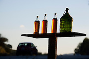 Monsenhor Paulo_MG, Brasil...Garrafas de pinga em Monsenhor Paulo...Cachaca bottle in Monsenhor Paulo...Foto: LEO DRUMOND / NITRO.....