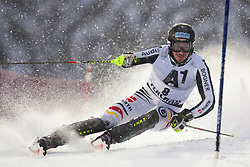 21.12.2011, Hermann Maier Weltcup Strecke, Flachau, AUT, FIS Weltcup Ski Alpin, Herren, Slalom 1. Durchgang, im Bild Felix Neureuther (GER) in Aktion // Felix Neureuther of Germany in action during Slalom race 1st run of FIS Ski Alpine World Cup at 'Hermann Maier World Cup' course in Flachau, Austria on 2011/12/21. EXPA Pictures © 2011, PhotoCredit: EXPA/ Johann Groder
