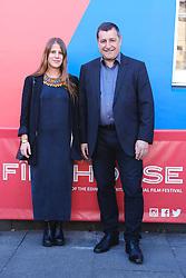 Edinburgh International Film Festival 2019<br /> <br /> Pictured: Josep Roca and Laura Otalora<br /> <br /> Alex Todd | Edinburgh Elite media