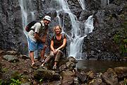 Waihee Falls Hike, Kaneohe, Oahu, Hawaii