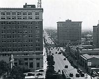1925 Looking east on Hollywood Blvd. towards Ivar & Vine Sts.