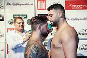 Boxen: Universum Boxpromotion, Boxgala, Waage, Hamburg, 18.06.2021<br /> WBC-International Silver Heaveyweight-Title: Senad Gashi ( GER) - Hussein Muhamed (GER)<br /> © Torsten Helmke