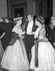 The Winterhalter Ball in aid of The National Portrait Fund was held at The Reform Club, London on 12th December 1987.