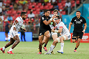 Sione Molia looks to break the defence during Day 3 of the HSBC World Rugby Sevens, Mens Cup Final match between New Zealand and USA, 2019, Spotless Stadium, Saturday 3rd February 2019. Copyright Photo: David Neilson / www.photosport.nz