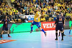 Jan Jurecic during handball match between RK Celje Pivovarna Lasko (SLO) and Paris Saint-Germain HB (FRA) in VELUX EHF Champions League 2018/19, on February 24, 2019 in Arena Zlatorog, Celje, Slovenia. Photo by Peter Podobnik / Sportida