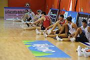 DESCRIZIONE : Folgaria Allenamento Raduno Collegiale Nazionale Italia Maschile <br /> GIOCATORE : team nazionale<br /> CATEGORIA : allenamento<br /> SQUADRA : Nazionale Italia <br /> EVENTO :  Allenamento Raduno Folgaria<br /> GARA : Allenamento<br /> DATA : 19/07/2012 <br /> SPORT : Pallacanestro<br /> AUTORE : Agenzia Ciamillo-Castoria/GiulioCiamillo<br /> Galleria : FIP Nazionali 2012<br /> Fotonotizia : Folgaria Allenamento Raduno Collegiale Nazionale Italia Maschile <br /> Predefinita :