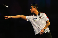 Rowby-John Rodriguez during the Darts World Championship 2018 at Alexandra Palace, London, United Kingdom on 18 December 2018.