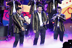 LOS ANGELES, CA - JULY 15: Band MS performs live on stage at Univision Deportes' Balon De Oro 2017 Awards at The Orpheum Theatre in Los Angeles, California on July 15, 2017 in Los Angeles, California. Byline, credit, TV usage, web usage or linkback must read SILVEXPHOTO.COM. Failure to byline correctly will incur double the agreed fee. Tel: +1 714 504 6870.
