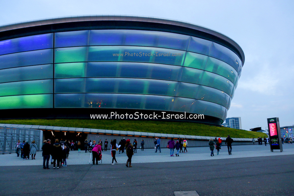 Scottish exhibition and conference centre (SECC) is Scotland's largest exhibition centre, located in the district of Finnieston on the north bank of the River Clyde, Glasgow.