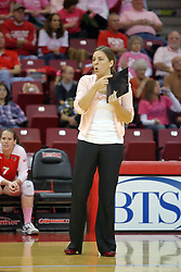 29 October 2011: Melissa Myers During a match between the Creighton Bluejays and the Illinois State Redbirds at Redbird Arena in Normal Illinois