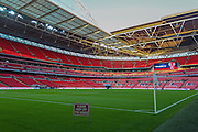 Wembley Stadium before the UEFA European 2016 Qualifier match between England and Estonia at Wembley Stadium, London, England on 9 October 2015. Photo by Shane Healey.