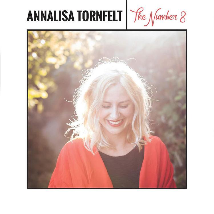 """Annalisa Tornfelt, """"The Number 8"""" album cover photo"""