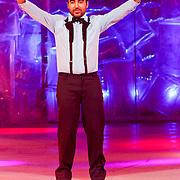 NLD/Hilversum/20130101 - 1e Liveshow Sterren dansen op het IJs 2013, Mimoun Ouled Radi