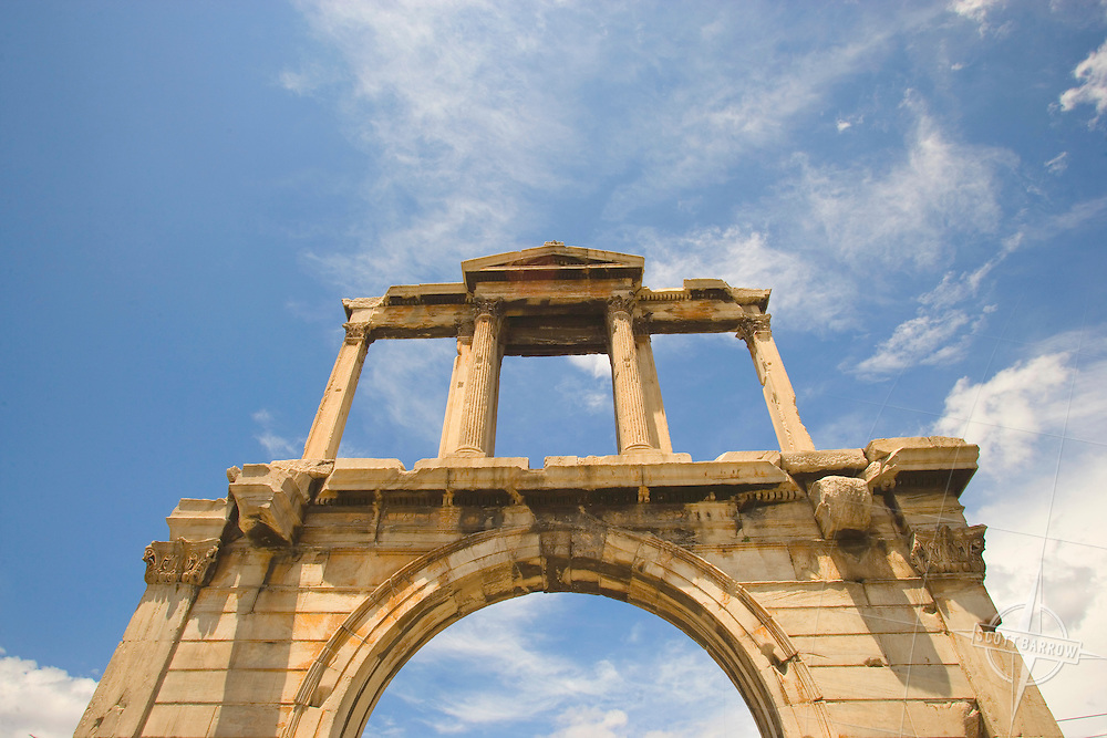 Hadrian's Arch, Athens, Greece