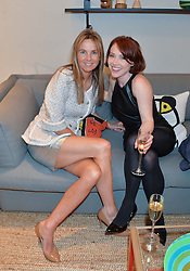 Left to right, VISCOUNTESS ROTHERMERE and actress DAISY LEWIS at the launch of A Season In France hosted by Jasper Conran at The Conran Shop, 81 Fulham Road, London on 1st May 2014.