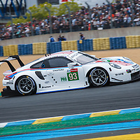 #93, Porsche GT Team, Porsche 911 RSR, LMGTE Pro, driven by: Patrick Pilet, Nick Tandy, Earl Bamber on 15/06/2019 at the Le Mans 24H 2019\93