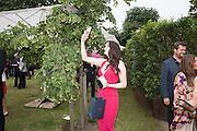 EMMA MILLER, 2016 SERPENTINE SUMMER FUNDRAISER PARTY CO-HOSTED BY TOMMY HILFIGER. Serpentine Pavilion, Designed by Bjarke Ingels (BIG), Kensington Gardens. London. 6 July 2016