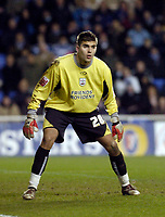 Photo: Leigh Quinnell.<br /> Reading v Southampton. Coca Cola Championship. 10/02/2006. Bartosz Bialkowski in action for Southampton.