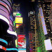 Times Square in New York City, New York, USA