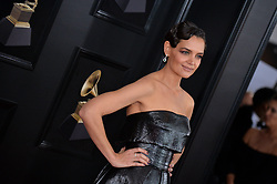 Katie Holmes attends the 60th Annual GRAMMY Awards at Madison Square Garden on January 28, 2018 in New York City, NY, USA. Photo by Lionel Hahn/ABACAPRESS.COM