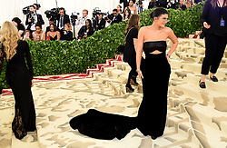 Kylie Jenner attending the Metropolitan Museum of Art Costume Institute Benefit Gala 2018 in New York, USA. PRESS ASSOCIATION Photo. Picture date: Picture date: Monday May 7, 2018. See PA story SHOWBIZ MET Gala. Photo credit should read: Ian West/PA Wire