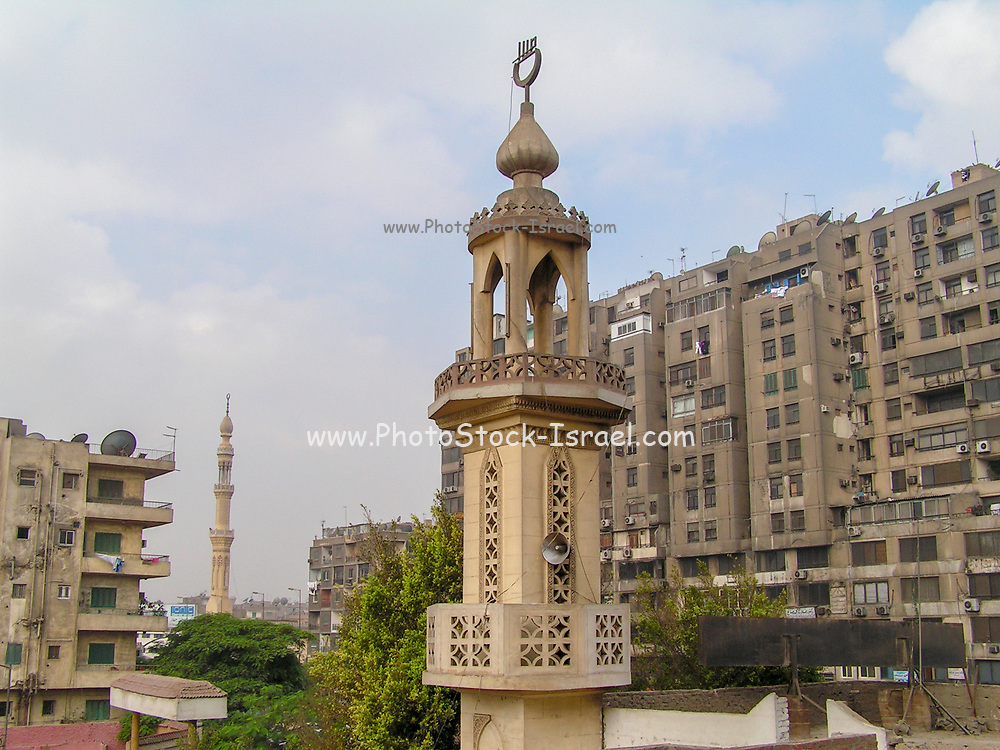 Cityscape of Old Town Cairo, Egypt