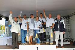 , BMW Sailing Cup Berlin Wannsee 20. - 22.09.2012, Siegerehrung J80  23.09.2012
