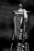 """Twickenham. Great Britain.<br /> """"The Six Nations Championship Trophy, on display before the <br /> RBS Six Nations Rugby, England vs Wales at the RFU Twickenham Stadium. England.<br /> <br /> Saturday  12/03/2016 <br /> <br /> [Mandatory Credit; Peter Spurrier/Intersport-images]"""