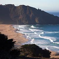 USA, California. California Coast on Pacific Coast Highway 1, south of Carmel by the Sea.