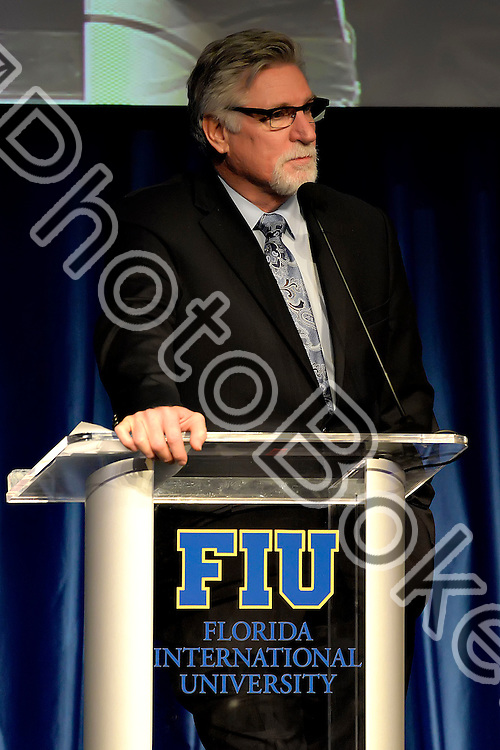 2016 February 06 - FIU baseball hosted the 2016 Diamond Dinner at the Graham Center ballrooms, Miami, Florida. (Photo by: Alex J. Hernandez / photobokeh.com) This image is copyright by PhotoBokeh.com and may not be reproduced or retransmitted without express written consent of PhotoBokeh.com. ©2016 PhotoBokeh.com - All Rights Reserved