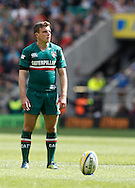 Picture by Andrew Tobin/Focus Images Ltd +44 7710 761829.25/05/2013. George Ford of Leicester prepares to kick a penalty in the 1st half during the Aviva Premiership match at Twickenham Stadium, Twickenham.